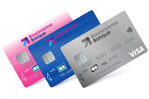 Banque Boursorama Cartes