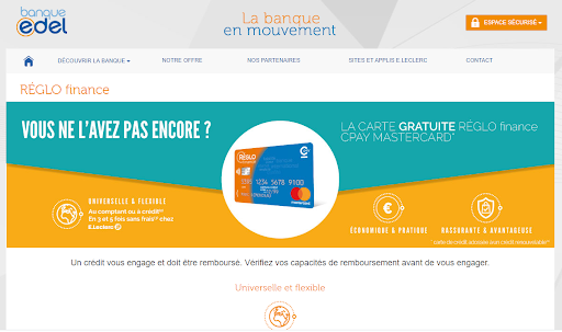 Banque Edel SNC