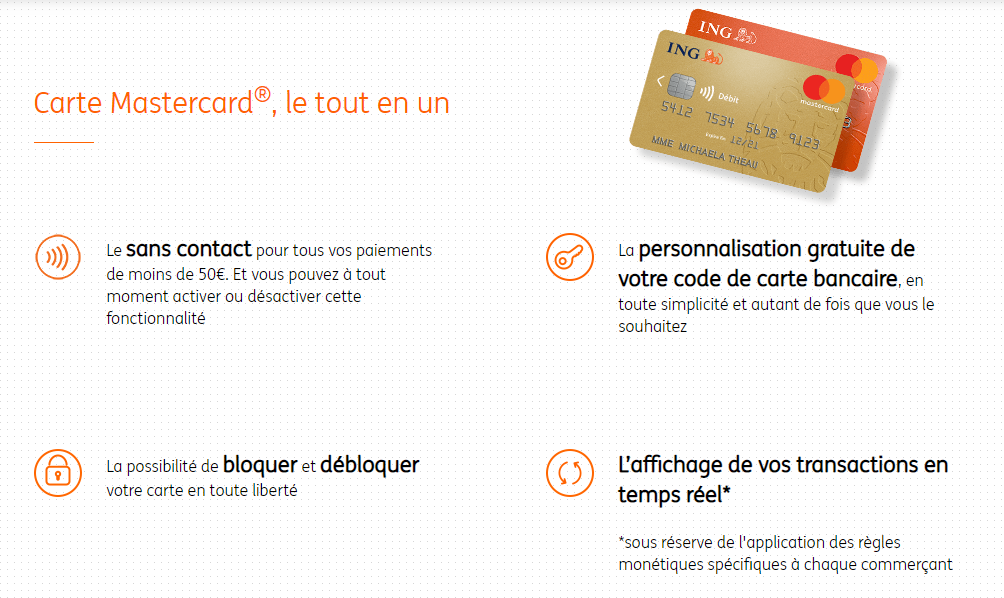 Banque ING - MasterCard